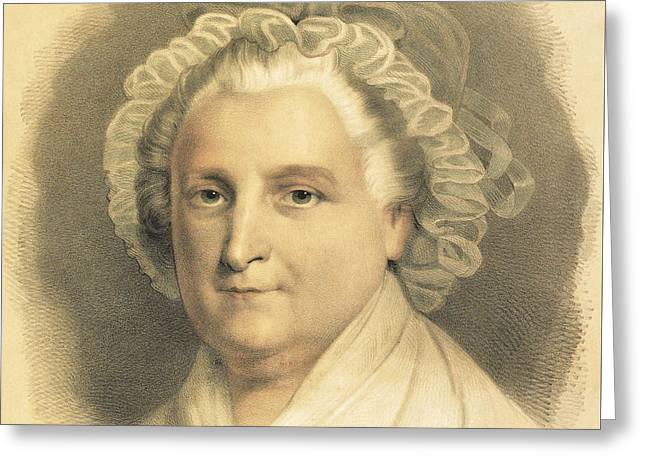 Martha Washington Greeting Card by American School