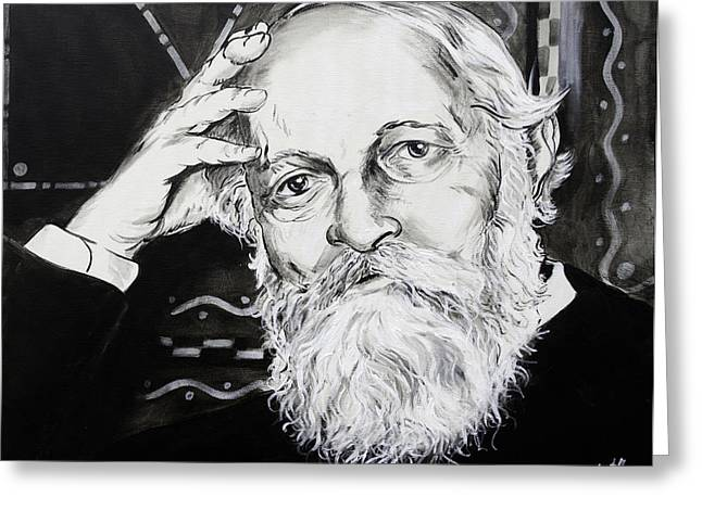 Martin Buber Greeting Card
