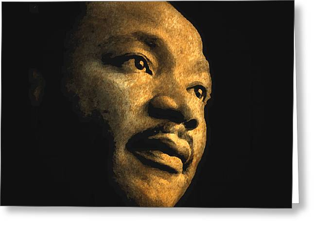 Martin Luther King, Jr. Greeting Card
