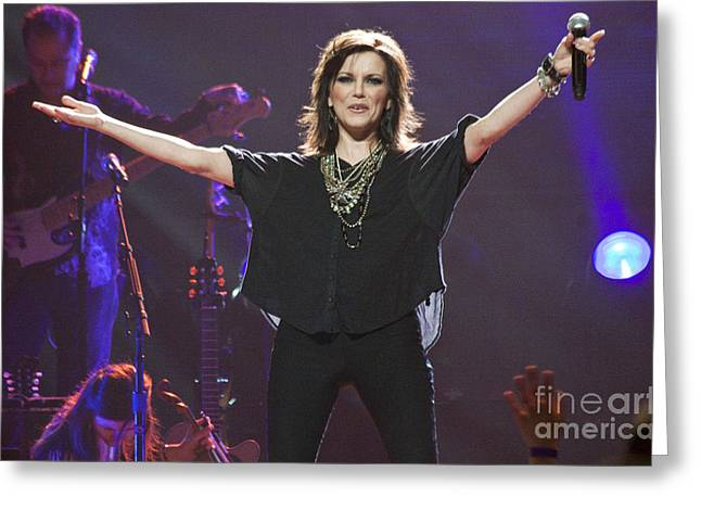 Martina Mcbride Greeting Card