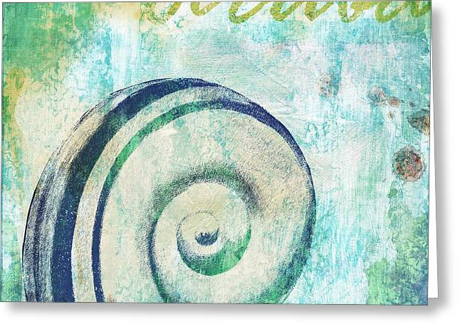 Martinique Shells IIi Greeting Card by Paul Brent