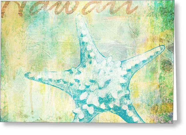 Martinique Shells Iv Greeting Card