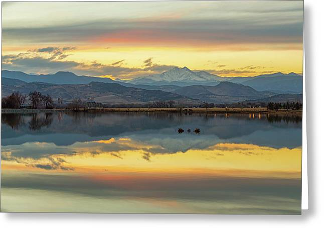 Greeting Card featuring the photograph Marvelous Mccall Lake Reflections by James BO Insogna