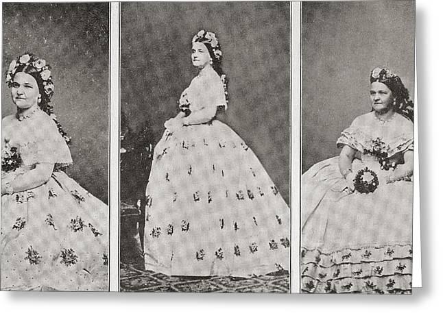 Mary Ann Lincoln, N Greeting Card