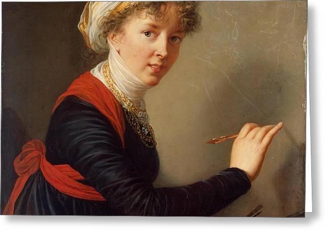 Mary Elizabeth Louise Greeting Card