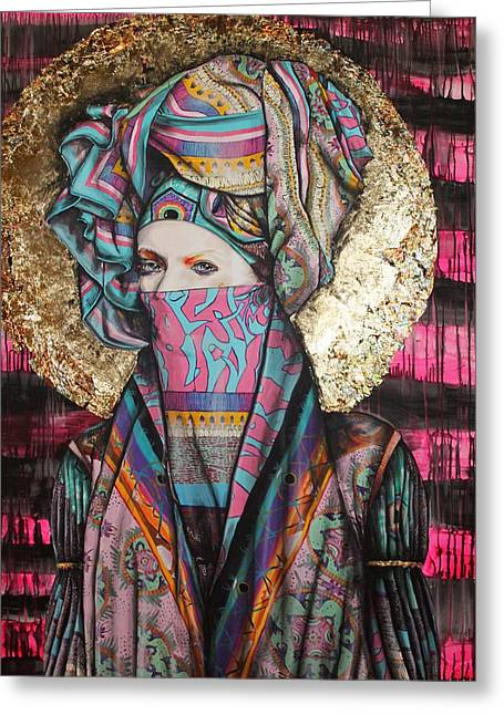 Mary Magdalene Greeting Card by Maudy Alferink