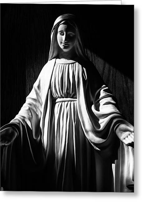 Greeting Card featuring the photograph Mary by Monte Stevens