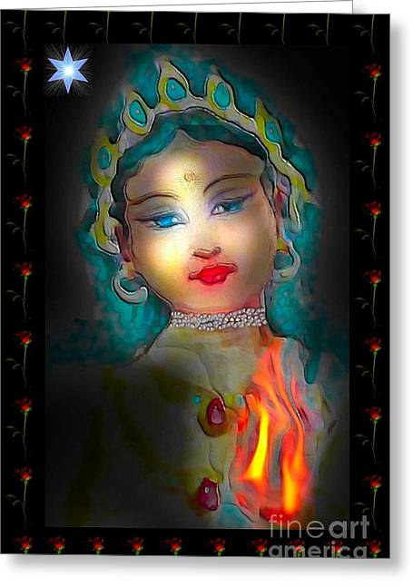 Mary, Star Of The Sea Greeting Card