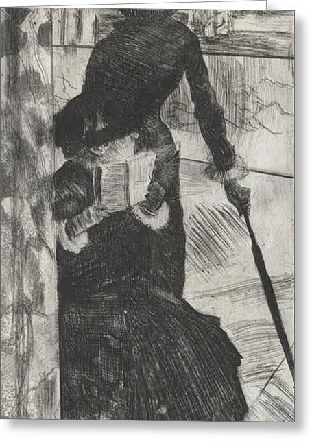 Mary Stevenson Cassatt Greeting Card
