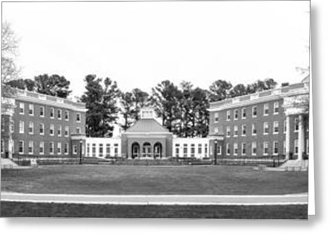 University Of Mary Washington Residence Halls Greeting Card by University Icons