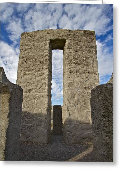 Maryhill Stonehenge 10 Greeting Card