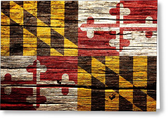 Maryland 2w Greeting Card by Brian Reaves