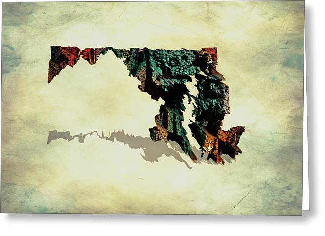 Maryland 6c Greeting Card by Brian Reaves