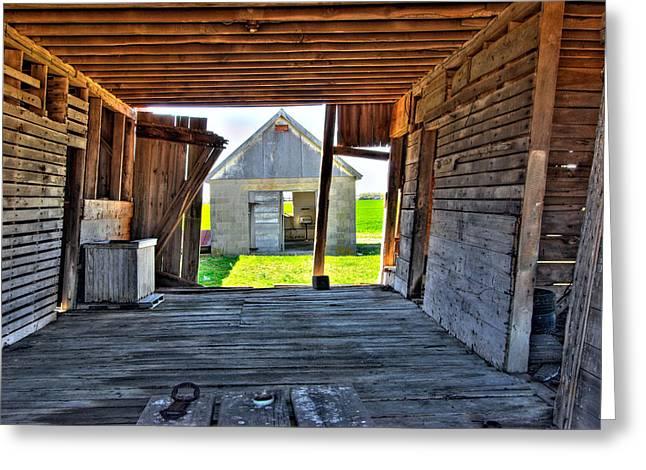 Maryland Barn Greeting Card