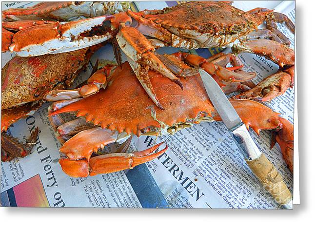 Maryland Feast Greeting Card