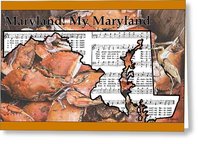 Maryland, My Maryland Greeting Card