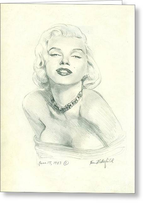 Marilyn Greeting Card