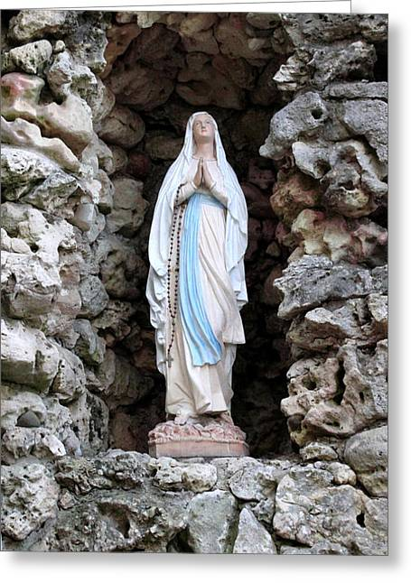 Marys Prayer Greeting Card