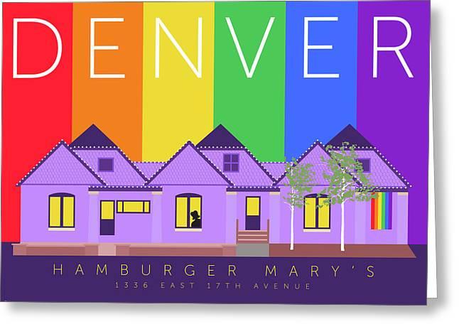 Mary's Rainbow Greeting Card