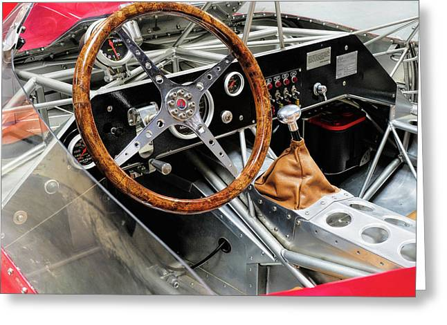 Maserati Tipo 61  Birdcage Sports Racer  Amn5,/47  V3 Greeting Card