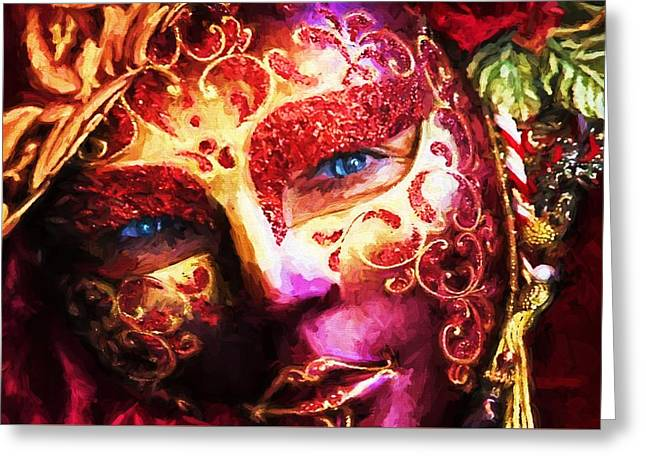 Masquerade 2 Greeting Card