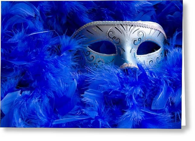 Masquerade Mask Greeting Card