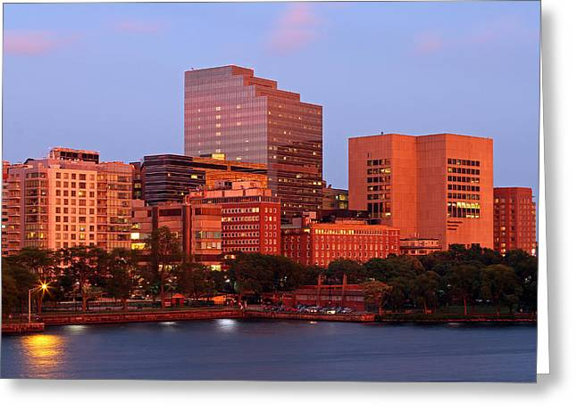 Greeting Card featuring the photograph Massachusetts General Hospital by Juergen Roth