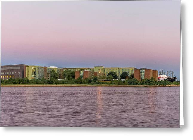 Massachusetts Maritime Academy At Sunset Greeting Card by Brian MacLean