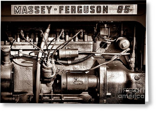 Massey Ferguson 85 Greeting Card by Olivier Le Queinec