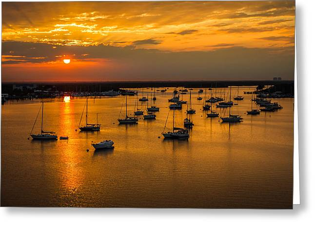 Matanzas Harbor Greeting Card