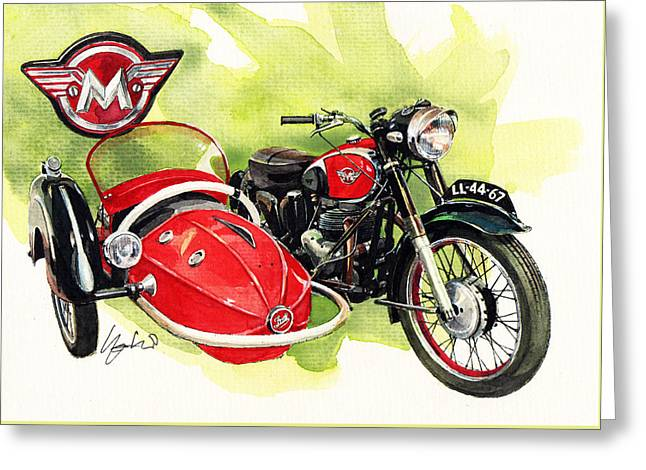 Matchless G4 Greeting Card