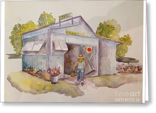 Maters And Taters Greeting Card by Anne McMath