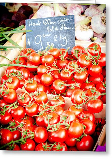 Greeting Card featuring the photograph 'maters by Jason Smith