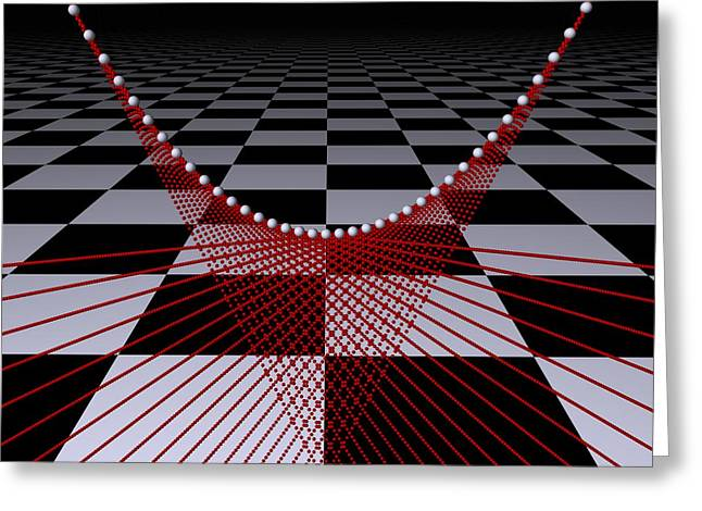 Mathematics  -2- Greeting Card by Issabild -