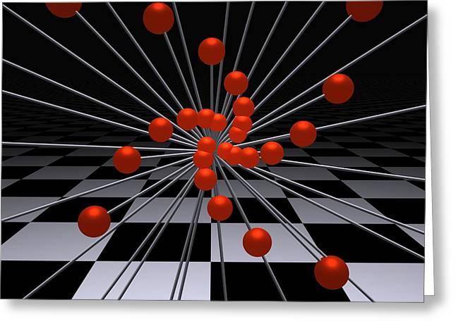 Mathematics   -3- Greeting Card by Issabild -