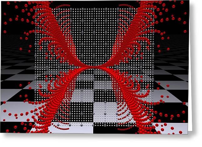 Mathematics  -9- Greeting Card by Issabild -