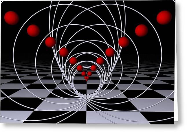 Mathematics  -1- Greeting Card by Issabild -