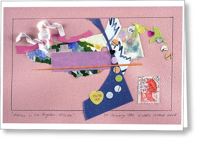 Matisse In Los Angeles Greeting Card by Eileen Hale