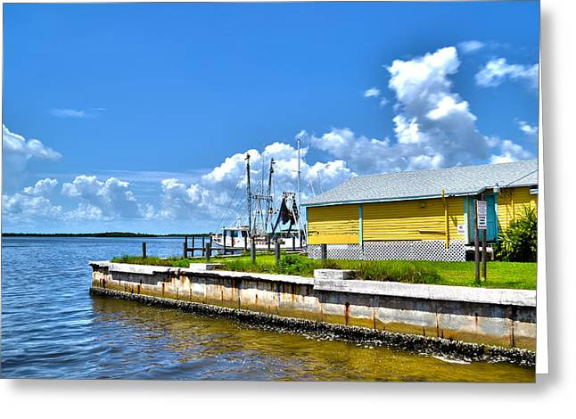 Greeting Card featuring the photograph Matlacha Florida Waterway by Timothy Lowry
