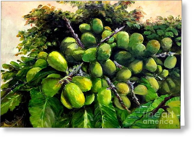 Matoa Fruit Greeting Card
