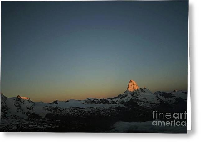Matterhorn At Sunrise Greeting Card