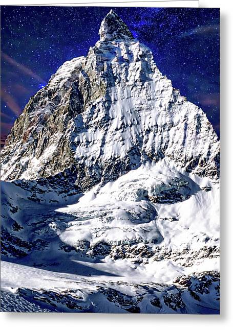Matterhorn At Twilight Greeting Card