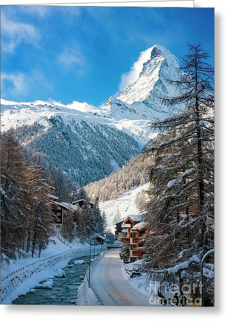 Matterhorn  Greeting Card by Brian Jannsen