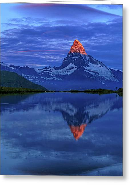 Matterhorn Sunrise Greeting Card
