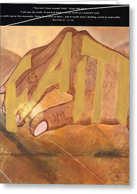 Matthew 17 20 Greeting Card