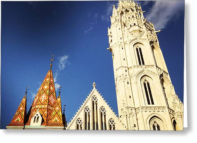 Matthias Church In Budapest Hungary Greeting Card