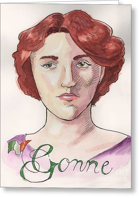 Maud Gonne Greeting Card