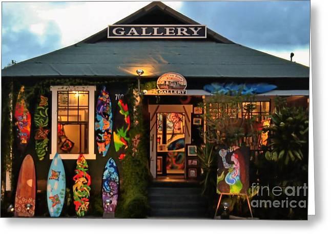 Maui Gallery Greeting Card by DJ Florek