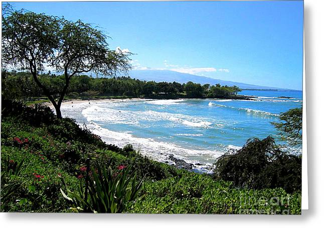 Mauna Kea Beach Greeting Card