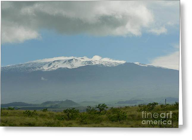 Mauna Kea Greeting Card by Don Lindemann